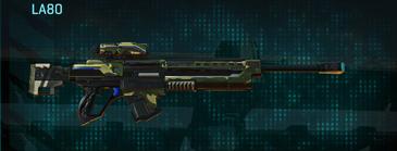 Temperate forest sniper rifle la80