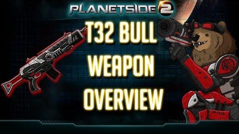 Planetside 2 T32 Bull Weapon Overview TR LMG