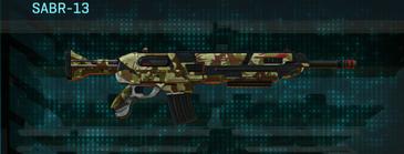 India scrub assault rifle sabr-13