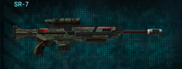 Amerish scrub sniper rifle sr-7