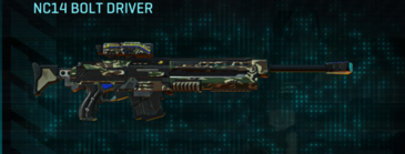 Scrub forest sniper rifle nc14 bolt driver