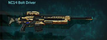 Sandy scrub sniper rifle nc14 bolt driver