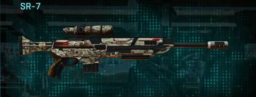 Arid forest sniper rifle sr-7