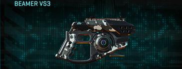 Snow aspen forest pistol beamer vs3