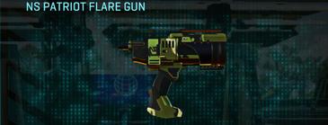 Jungle forest pistol ns patriot flare gun