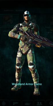 Vc woodland combat medic
