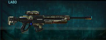 Woodland sniper rifle la80