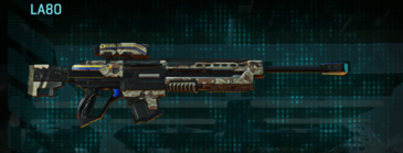 Arid forest sniper rifle la80
