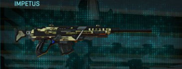 Palm sniper rifle impetus