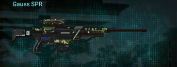 African forest sniper rifle gauss spr
