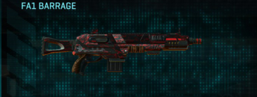Tr digital shotgun fa1 barrage