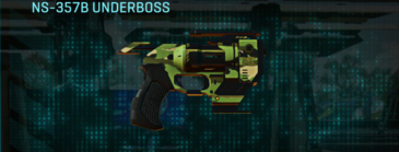 Jungle forest pistol ns-357b underboss
