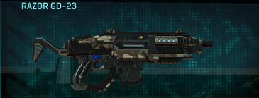 Woodland carbine razor gd-23