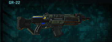 Amerish scrub assault rifle gr-22