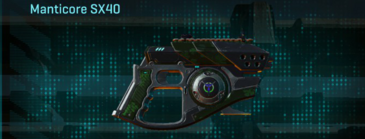Clover pistol manticore sx40