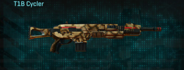 Giraffe assault rifle t1b cycler