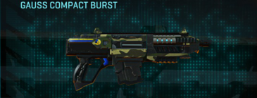 Temperate forest carbine gauss compact burst