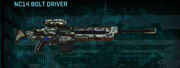 Northern forest sniper rifle nc14 bolt driver