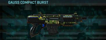 Jungle forest carbine gauss compact burst