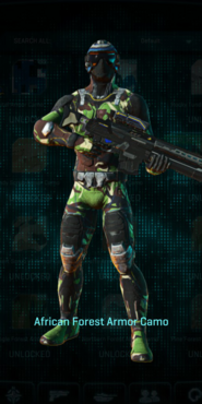 Nc africa forest infiltrator
