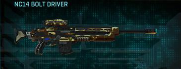 India scrub sniper rifle nc14 bolt driver