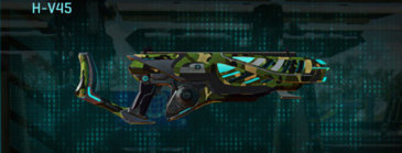 Jungle forest assault rifle h-v45