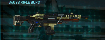 Palm assault rifle gauss rifle burst