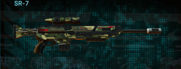 Temperate forest sniper rifle sr-7