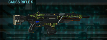 Jungle forest assault rifle gauss rifle s