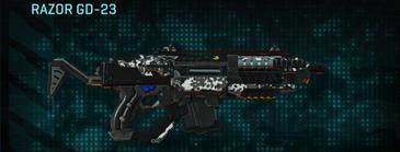 Snow aspen forest carbine razor gd-23