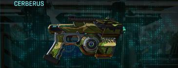 Jungle forest pistol cerberus