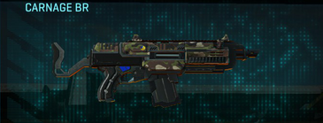 Woodland assault rifle carnage br