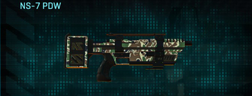 Scrub forest smg ns-7 pdw