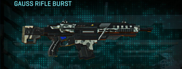 Northern forest assault rifle gauss rifle burst