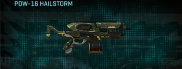 Temperate forest smg pdw-16 hailstorm