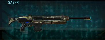 Woodland sniper rifle sas-r