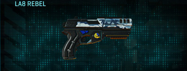 Nc urban forest pistol la8 rebel