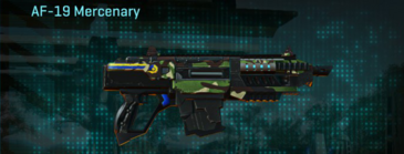 African forest carbine af-19 mercenary