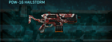 Tr urban forest smg pdw-16 hailstorm