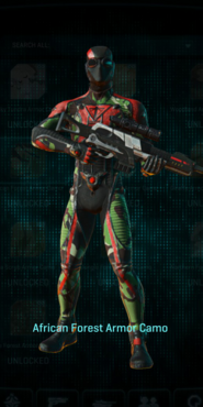 Tr africa forest infiltrator