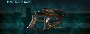 Woodland pistol manticore sx40