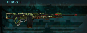 Jungle forest lmg t9 carv-s