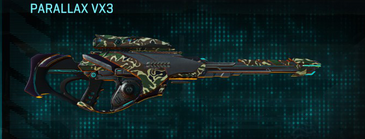 Scrub forest sniper rifle parallax vx3