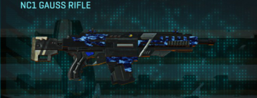 Nc digital assault rifle nc1 gauss rifle