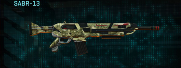 Palm assault rifle sabr-13