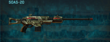 Pine forest scout rifle soas-20