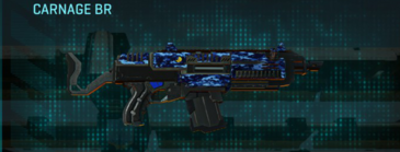 Nc digital assault rifle carnage br