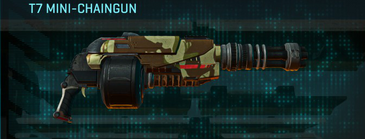 India scrub heavy gun t7 mini-chaingun