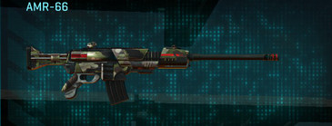Woodland battle rifle amr-66