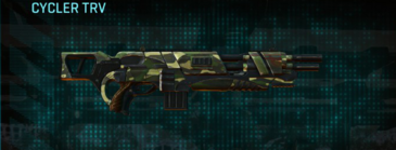 Temperate forest assault rifle cycler trv